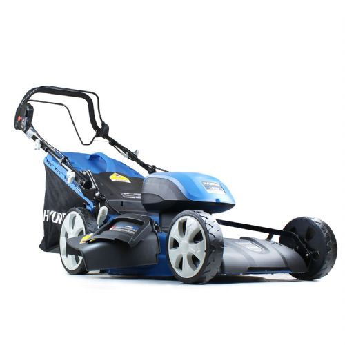 Hyundai HYM120Li510 2x 60V Lithium-Ion Battery Powered Lawnmower 2x Batteries & Charger Included